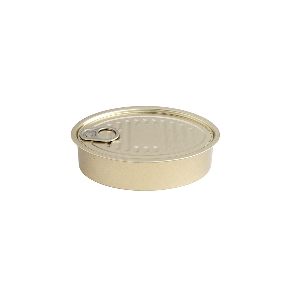Oval Tin Can With Lid Xl Muddle Me